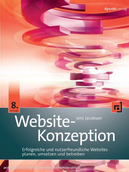 Website-Konzeption Cover