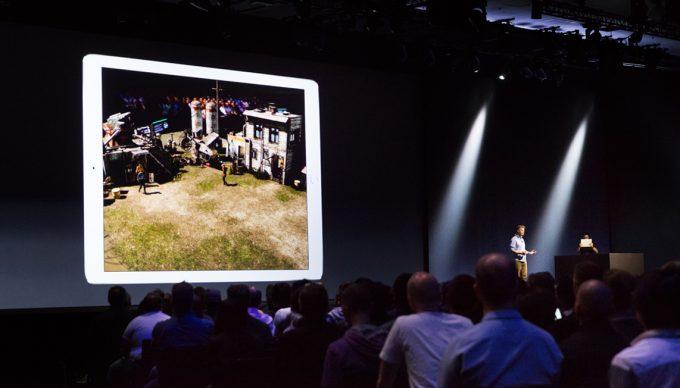 ARKit Demo auf der WWDC 2017