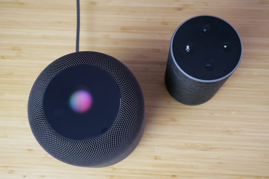 Apple HomePod und Amazon Echo