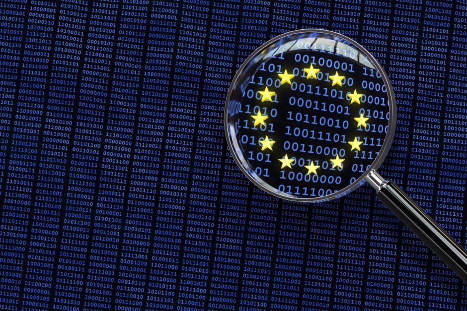 Symbol Datenschutz in der EU