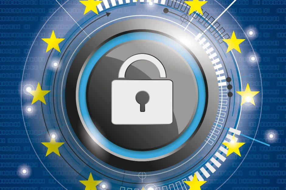 Symbol EU-Datenschutz