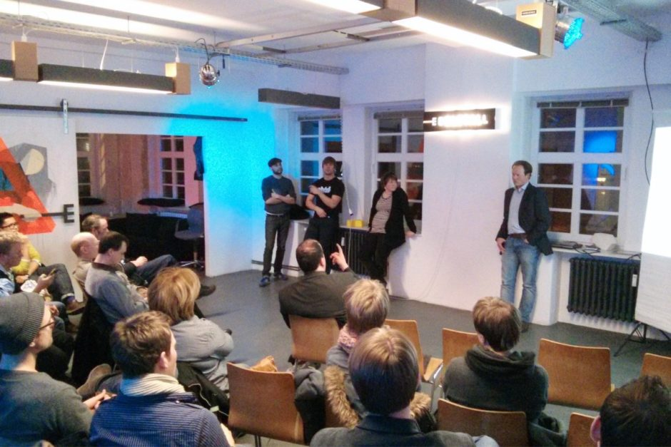 Event in einem Coworking Space in Hannover