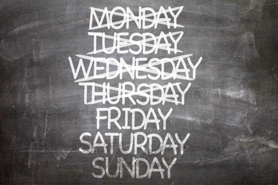 Symbol Woche