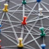 Symbol Netzwerk Verlinkung
