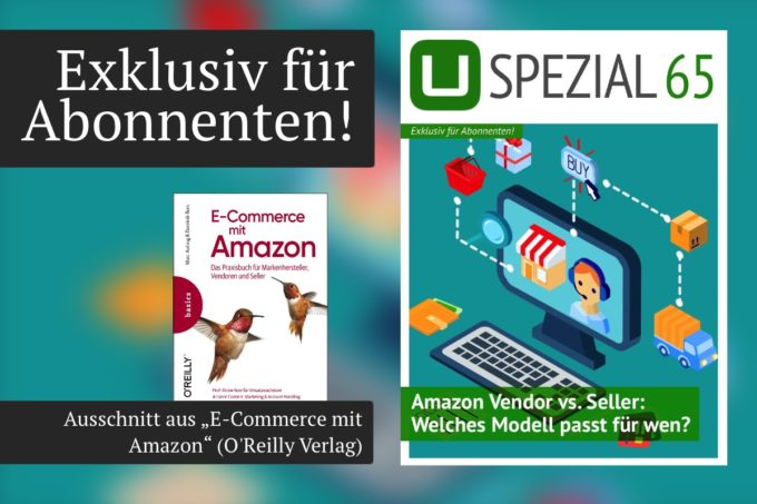 Neues UPLOAD Spezial: Amazon Vendor vs. Seller – Welches Modell passt für wen?