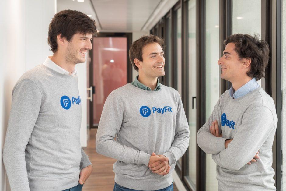 PayFit-Gründerteam: Ghislain de Fontenay, Firmin Zocchetto, Florian Fournier