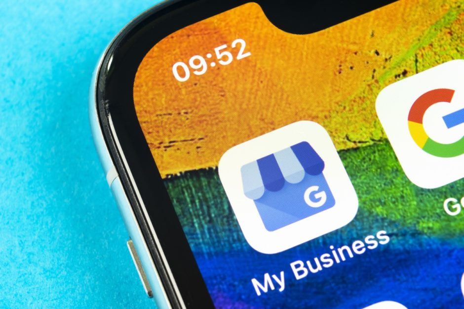 Symbolfoto Google My Business