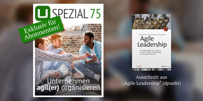 Neues Spezial: Unternehmen agil(er) organisieren
