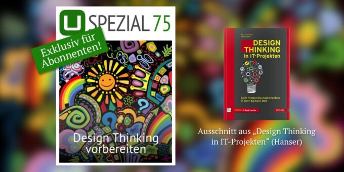 Neues UPLOAD Spezial: Design Thinking vorbereiten