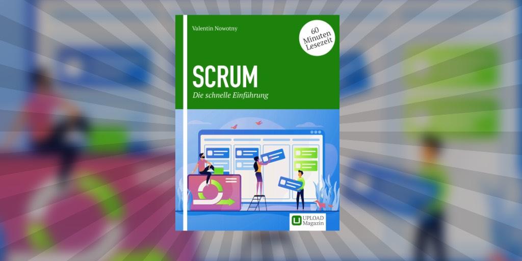 """Cover unseres E-Books """"Scrum – Die schnelle EInführung"""""""