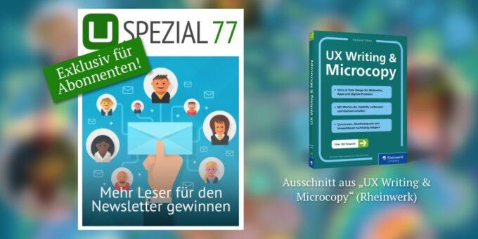 Neues Spezial: Mehr Leser für den Newsletter gewinnen