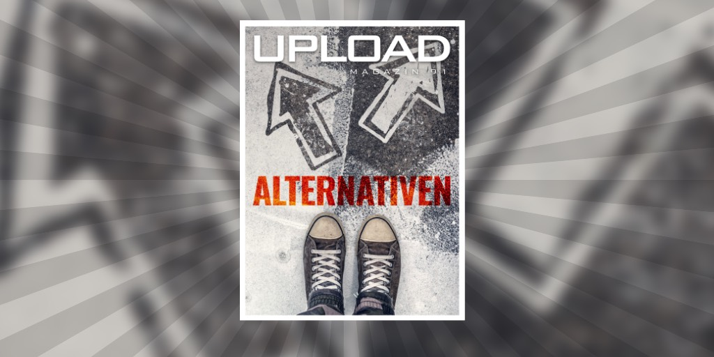 Cover von UPLOAD Magazin 90